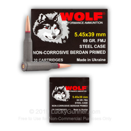 Image 4 of Wolf 5.45x39 Russian Ammo