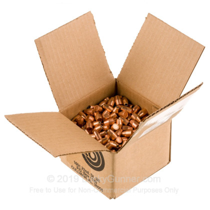 """Large image of Premium 9mm (.355"""") Bullets for Sale - 115 Grain JHP Bullets in Stock by Zero Bullets - 500 Projectiles"""