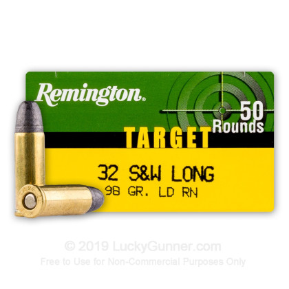 Image 1 of Remington .32 (Smith & Wesson) Long Ammo