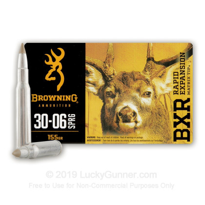 Image 1 of Browning .30-06 Ammo