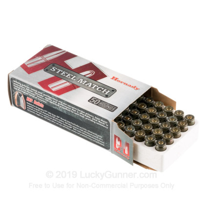 9mm Luger - 125 Grain Hornady Action Pistol JHP – Hornady Steel Match - 50  Rounds