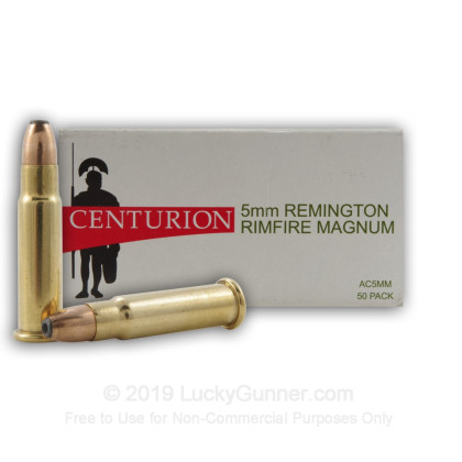 Image 3 of Centurion 5mm Remington Magnum Ammo