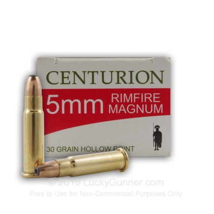 Image 1 of Centurion 5mm Remington Magnum Ammo