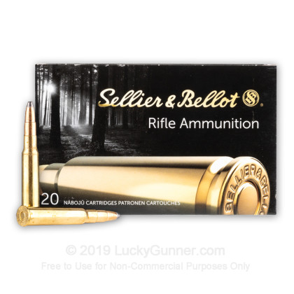 Image 2 of Sellier & Bellot 8x57mm JRS Mauser (8mm Rimmed Mauser) Ammo