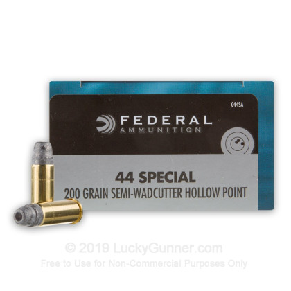 44 Special - 200 gr LSWCHP - Federal Champion - 20 Rounds