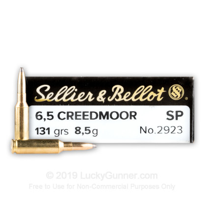 Image 1 of Sellier & Bellot 6.5mm Creedmoor Ammo