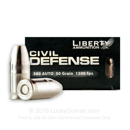 Image 1 of Liberty Ammunition .380 Auto (ACP) Ammo