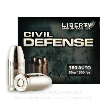 Image 2 of Liberty Ammunition .380 Auto (ACP) Ammo