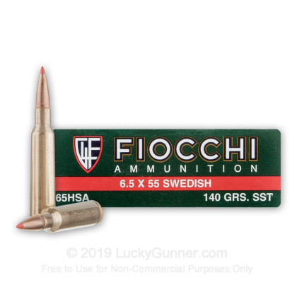 Image 1 of Fiocchi 6.5x55 Swedish Ammo