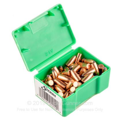 "Large image of Bulk 223 Rem (.224"") Bullets for Sale - 45 Grain JSP Bullets in Stock by Sierra - 100"