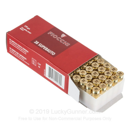 Image 3 of Fiocchi .38 Super Ammo