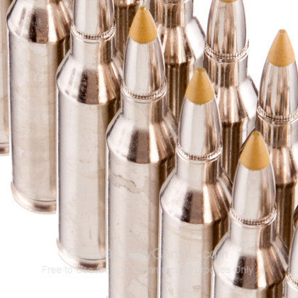 Large image of Premium 243 Ammo For Sale - 97 Grain Rapid Expanding Matrix Tip Ammunition in Stock by Browning BXR Deer - 20 Rounds