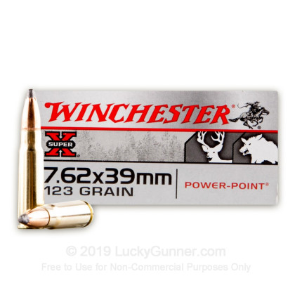 Image 1 of Winchester 7.62X39 Ammo