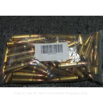 7 62x39mm - Mixed Manufacturer Brass and Nickel Plated Ammo - 50 Rounds