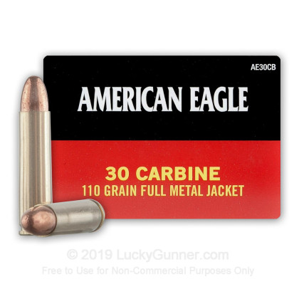 Image 1 of Federal 30 Carbine Ammo