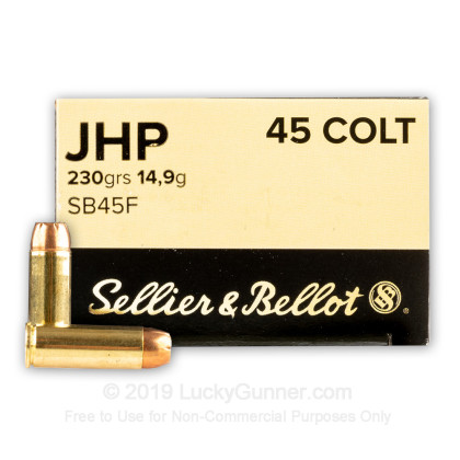 Image 1 of Sellier & Bellot .45 Long Colt Ammo