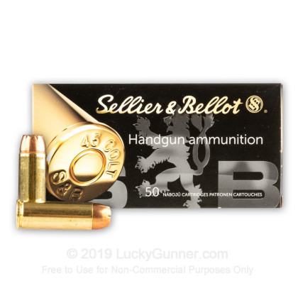 Image 2 of Sellier & Bellot .45 Long Colt Ammo