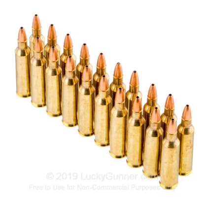 Image 4 of Nosler Ammunition .22-250 Remington Ammo