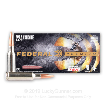 Image 2 of Federal .224 Valkyrie Ammo