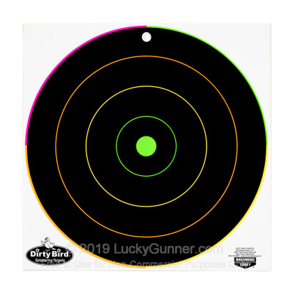 """Large image of Dirty Bird Multi-Color Targets For Sale - Dirty Bird Target Kit - Birchwood Casey 12"""" Targets For Sale"""