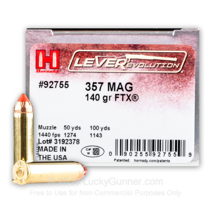 Image 1 of Hornady .357 Magnum Ammo