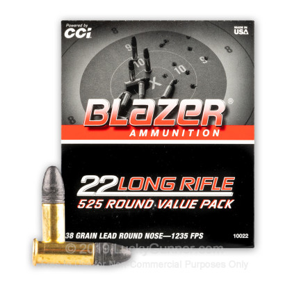 Image 1 of Blazer .22 Long Rifle (LR) Ammo