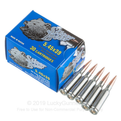 Image 3 of Silver Bear 5.45x39 Russian Ammo