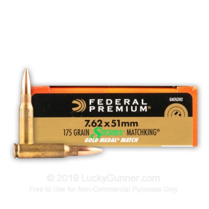 Image 1 of Federal .308 (7.62X51) Ammo
