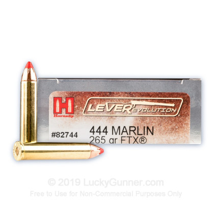 Image 1 of Hornady .444 Marlin Ammo