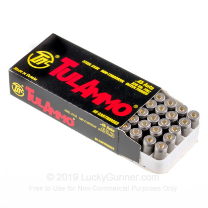 Image 3 of Tula Cartridge Works .45 ACP (Auto) Ammo