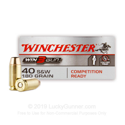 Image 1 of Winchester .40 S&W (Smith & Wesson) Ammo