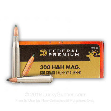 Image 1 of Federal .300 H&H Magnum Ammo