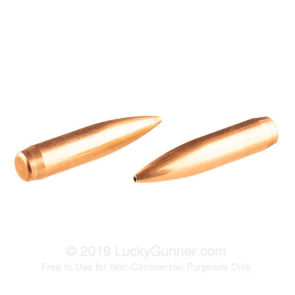 "Large image of Premium 7mm (.284"") Bullets For Sale - 168 Grain HPBT Bullets in Stock by Nosler Custom Competition - 250 Projectiles"