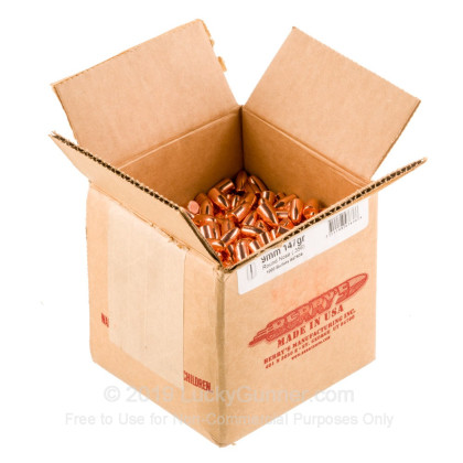 Large image of Berry's 9mm Plated Bullets For Sale - 9mm 147 gr RN