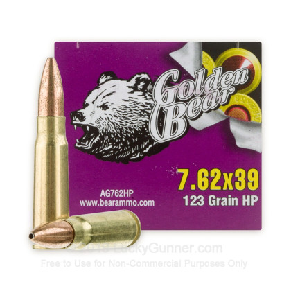 Image 2 of Golden Bear 7.62X39 Ammo