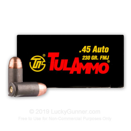 Image 2 of Tula Cartridge Works .45 ACP (Auto) Ammo