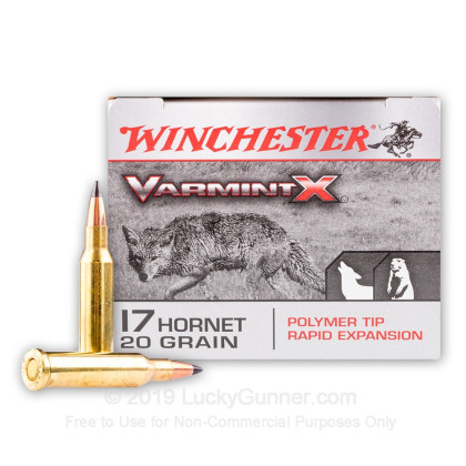 Image 1 of Winchester .17 Hornet Ammo