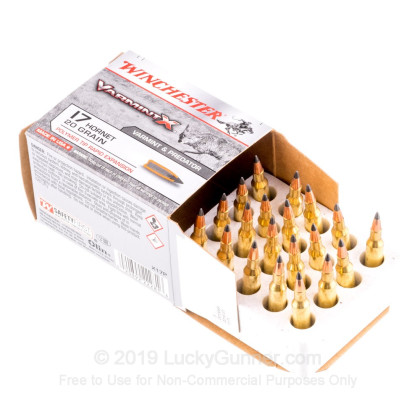 Image 3 of Winchester .17 Hornet Ammo
