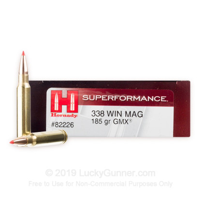 Image 1 of Hornady .338 Winchester Magnum Ammo