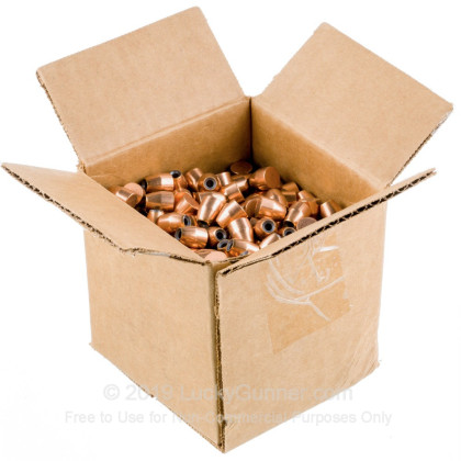 "Large image of Premium 45 ACP (.451"") Bullets for Sale - 185 Grain JHP Bullets in Stock by Zero Bullets - 500 Projectiles"