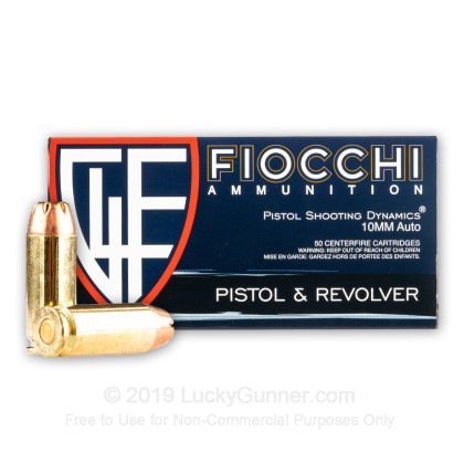 Image 2 of Fiocchi 10mm Auto Ammo