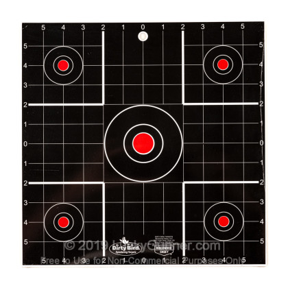 """Large image of Dirty Bird Black Targets For Sale - Dirty Bird Target Kit - Birchwood Casey 12"""" Targets For Sale"""