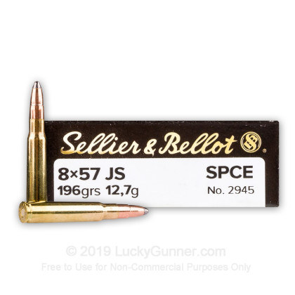 Image 1 of Sellier & Bellot 8mm Mauser (8x57mm JS) Ammo