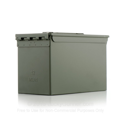Large image of Bulk 50 Cal Green Brand New M2A1 Ammo Cans For Sale - 12 Cans