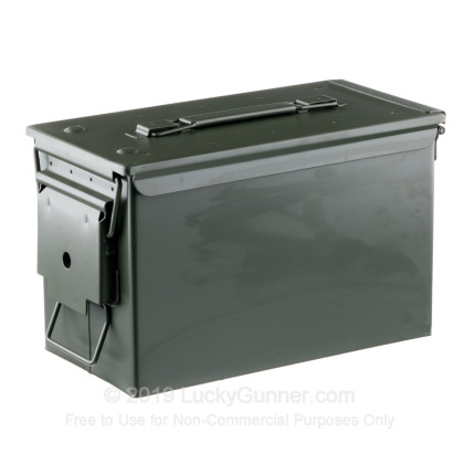 Large image of 50 Cal Green Damaved Mil-Spec M2A1 Ammo Can For Sale
