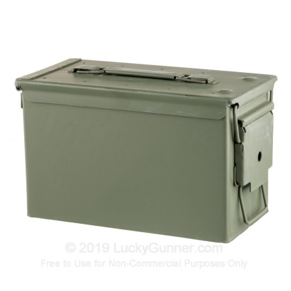 Large image of 50 Cal Green Brand New Mil-Spec M2A1 Ammo Cans 12 Pack For Sale