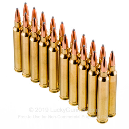 Large image of Cheap 7mm STW Ammo For Sale - 140 Grain PSP BT Ammunition in Stock by PCI - 20 Rounds