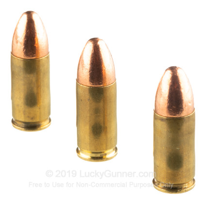 Bulk 9mm Ammo In Stock - 124 gr FMJ - 9 mm Luger Ammunition by