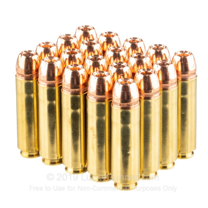 Large image of Premium 50 Beowulf Ammo For Sale - 350 Grain XTP Ammunition in Stock by Underwood - 20 Rounds