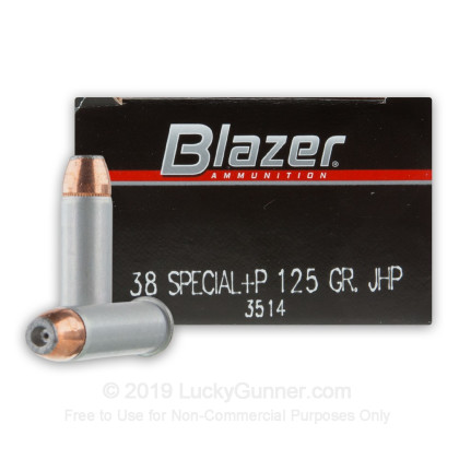 Image 1 of Blazer .38 Special Ammo